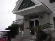 西伊豆・浮島のホテルサンセットリゾートの玄関