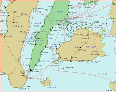 cebu detail Map.JPG セブ島周辺の詳細地図